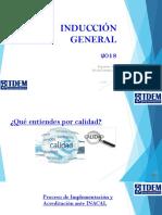 Diapositivas 2018 Induccion General y Documentación