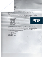 Thomas Chantry Letter to ARBCA/ Bob Selph on 3-Man Informal Council Selections