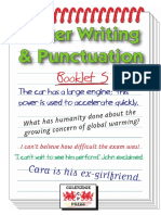 Better Writing & Punctuation Booklet