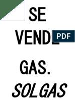 Se Vende Gas