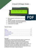 LCD16X2S Datasheet