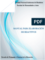 Manual Para Elaboracion de Reactivos