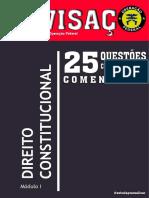 Revisaço - Direito Constitucional - Operação Federal - PRF, PF