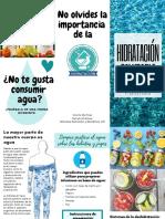 Hidratación Tríptico 2018