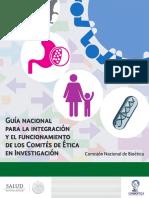 Guía nacional para la integración y el funcionamiento de los Comités de Ética en Investigación.pdf