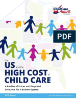 The US and the High Cost of Child Care- A Review of Prices and Proposed Solutions for a Broken System