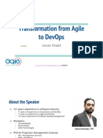Transformation From Agile to DevOps by Umair Khalid