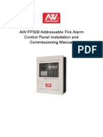 AW-FP300 Addressable Fire Alarm Control Panel Installation and Commissioning Manual