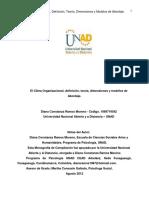 El Clima Organizacional, definición, teoría, dimensiones y modelos de abordaje (libro pdf).pdf