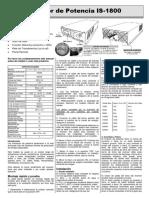 Ficha Tecnica Hyundai H1 2015