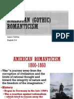 gothic romanticism overview