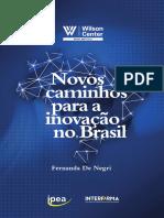Novos Caminhos Para a Inovacao No Brasil Interfarma