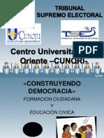 Formación Ciudadana y Educación Cívica