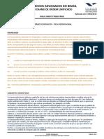 FGV - 2015 - OAB - Exame de Ordem Unificado - XVI - Segunda Fase - Direito Tributário Gabarito