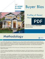 2018 Buyer Bios Profiles of Recent Home Buyers and Sellers 11-02-2018