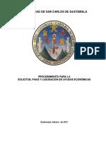 Manual Para Ayudas Becarias (Académico y Estudiantil)