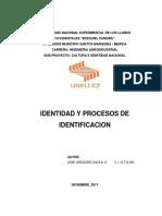 Trabajo Modulo II Identidad y Procesos de Identificación