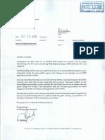 Karta 29 Okt 2018 Di Minister Gijsbertha Aseptando Ku e La Entrega Un Lei Sin Konsehonan Nesesario Manera Lei Ta Preskribi