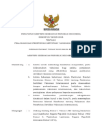PMK No 23 Th 2018 Ttg Pelayanan Dan Penerbitan Sertifikat Vaksinasi Internasional