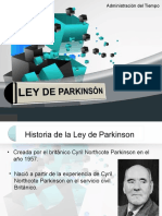 1.- Ley Parkinson