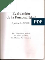Evaluación de La Personalidad-Aportes Del MMPI-2_Brenlla-Diu-Maristany_Cap. 1 a 3