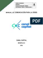 Manual de Comunicación Para La Crisis