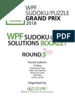 2018 SudokuRound5 SB