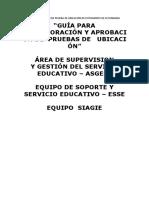 Modelo de Resolucion de Prueba de Ubicación de Estudiantes de Secundaria