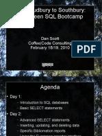 SQL Instruction