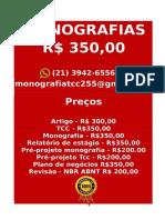 Tcc & Monografia Por 349,99 Whatsapp (21) 974111465 Editoracaoservicos@Gmail.com (90)