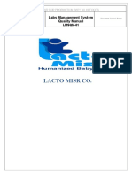 Lab Quality Manual - Lacto Misr2