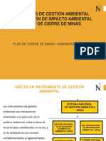 4.0 Instrumentos de Gestion Ambiental