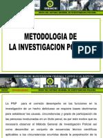 Metodologia de La Investigacion Policial