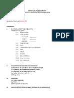 Estructura Del Pei 2108 Con Àreas