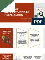 Actividad de Fiscalización