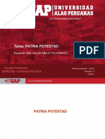 PATRIA POTESTAD