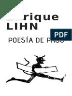 Portada Poesía de Paso Enrique LIHN