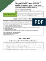 impact cycle - teachers form 10-5