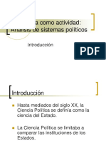 4. La Politica como actividad - sistema politico