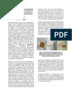 Fabricación de Nanogenerador
