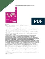 Assistentes Brasileiros de Língua Portuguesa Na França - Ano Letivo 2019-2020