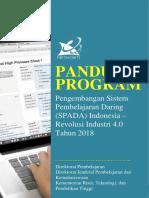 Panduan Program SAPDA Revolusi Industri 4.0