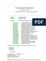 Interpolacion-Complemento de Excel