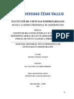"""""""GESTIÓN DE RELACIONES INTERNAS Y SU EFECTO EN EL DESEMPEÑO LABORAL DE LOS COLABORADORES DEL PODER JUDICIAL DE NUEVO CAJAMARCA, PERÍODO – 2015"""". .pdf"""