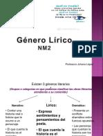 Genero Lirico Nm2