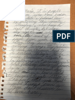 Letter to Maria Georgina Becera Dearcos