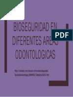 Bioseguridad en Diferentes Areas Odontologicas