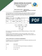 Ecuaciones y Sus Aplicaciones