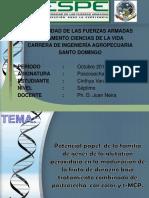 Potencial Papel de La Familia de Genes de La Glutatión Peroxidasa en La Maduración de La Fruta de Durazno Bajo Tratamiento Combinado de Postcosecha Con Calor y 1-MCP.