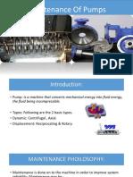 Maintenance pump